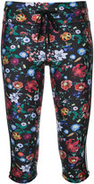 The Upside floral print fitness leggings - women - Polyester - XXS