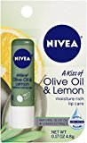Nivea Lip Care A Kiss of Olive and Lemon Lip Care (Pack of 6)