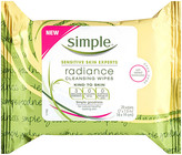 Simple Kind To Skin Radiance Cleansing Wipes