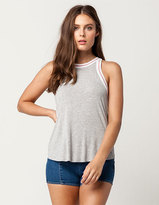 Others Follow Athletic Stripe Womens Tank