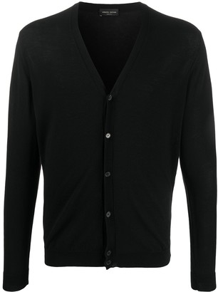 Roberto Collina Lightweight Cotton Cardigan
