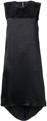 Ann Demeulemeester sleeveless midi shift dress