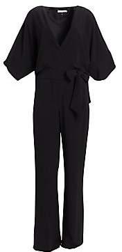 Halston Women's Wrap Front Jumpsuit