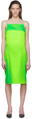 Kwaidan Editions Green Slip Dress