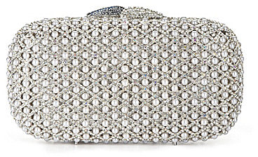 Kate Landry Social Pearl Caged Clutch