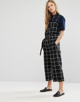 Shades of Grey Shades of Gray Checked Utility Jumpsuit