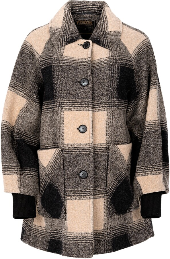 Shorthills Raglan Wool Blend Coat