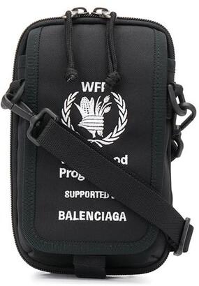Balenciaga World Food Programme embroidered crossbody bag
