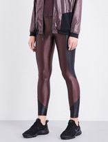 Koral Curve cropped stretch-jersey leggings