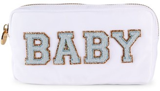 Stoney Clover Lane Small Embroidered Pouch