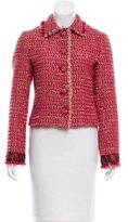 Blumarine Embellished Tweed Jacket