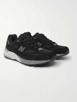 New Balance M992 Suede, Nubuck And Mesh Sneakers