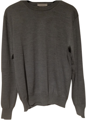 Ermenegildo Zegna Grey Wool Knitwear & Sweatshirts