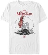 Fifth Sun Tee Shirts WHITE - Disney Princess White '30 Years' Ariel Sketch Tee - Adult