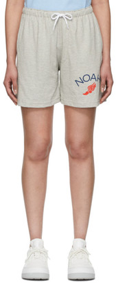 Noah NYC Grey Rugby Cloth Shorts