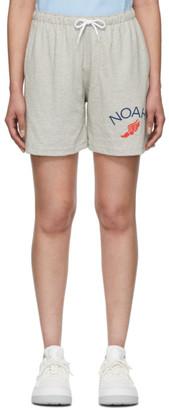 Noah NYC Grey Rugby Cloth Shorts