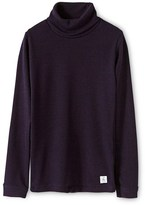 Petit Bateau Adults unisex wool roll-neck pullover