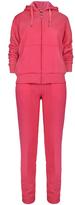 Coral Fleece Zip-Up Hoodie & Sweatpants