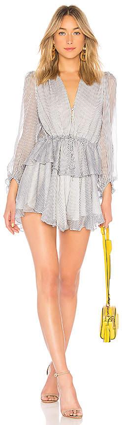 Shona Joy Seberg Puff Sleeve Mini Dress