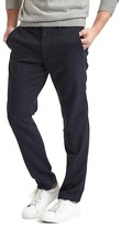 Gap Textured wool-blend slim fit trouser