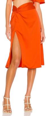 Camila Coelho Silvia Midi Skirt