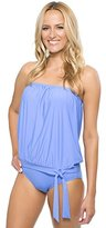 Athena Women's Cabana Solids Soft Cup Bandini Tankini Top