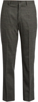 Dolce & Gabbana Prince of Wales-checked wool trousers