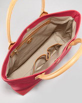 Tory Burch Jaden Large Nylon Tote Bag, Auburn/Carmine