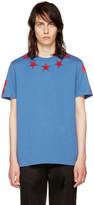 Givenchy Blue Stars 74 Shirt