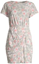 Rebecca Taylor Kamea Floral Jersey Mini Dress