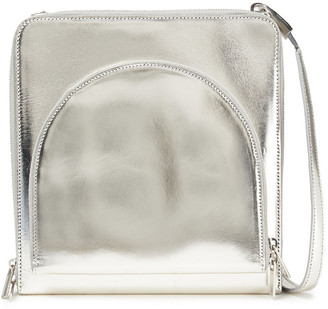 Rick Owens Metallic Leather Shoulder Bag
