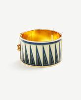 Ann Taylor Tribal Geo Cuff Bracelet