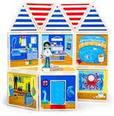 Girl's Build And Imagine Marine Rescue Center 48-Piece Magnetic Dollhouse