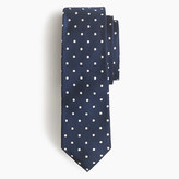 J.Crew Italian silk repp tie in dot