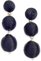 INC International Concepts I.N.C. Gold-Tone Threaded Ball Drop Earrings, Created for Macy's