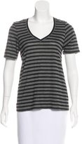 The Lady & The Sailor Striped Short Sleeve Top