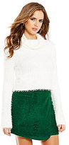 Gianni Bini Alice Fuzzy Turtleneck