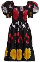 Thumbnail for your product : Busayo Iya Puff Sleeve Dress Dress