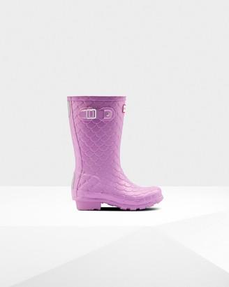 Dragon Optical Original Big Kids Sea Texture Rain Boots