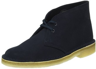 Clarks Women's Desert Boots Blue (Dark Navy Suede) 5 UK(38 EU)