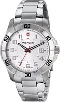 Wenger Men's 70489 Alpine -Dial Stainless Steel Bracelet Watch