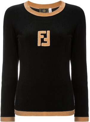 Fendi Pre Owned Long Sleeve Jumper