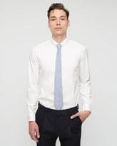 Stretch Poplin Slim Shirt