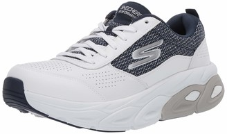 Skechers Men's Max Cushioning Ultimate Distinct-Premium Leather Stability Walker & Runner Sneaker