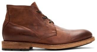 Frye Bowery Leather Chukka Boots