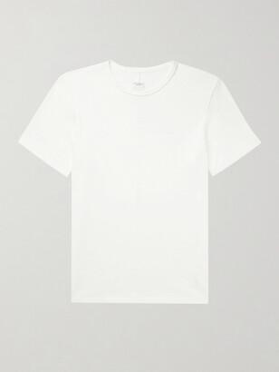 Rag & Bone Classic Flame Slub Cotton-Jersey T-Shirt