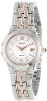 Seiko Women's SXDB18 Le Grand Sport Silver-Tone and Rose Tone Watch