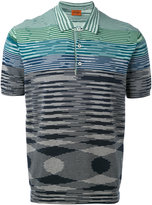 Missoni striped polo shirt - men - Cotton - 50