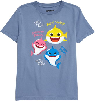 JEM Pinkfong Family Sharks Graphic Tee