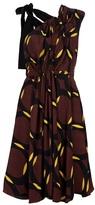 Marni Asymmetric print dress